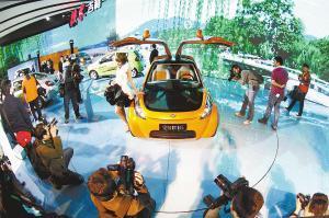 自主品牌战略地位提升 车展亮相让世界震惊