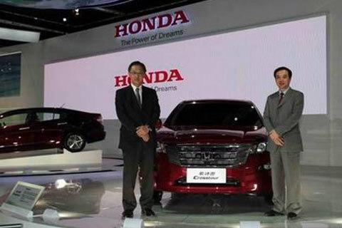 两款重磅车型中国首发 广汽本田强势出击2010年北京车展