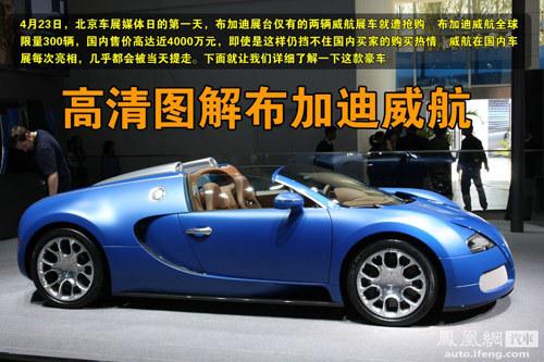 天价布嘉迪车展售出 中国买家创全球年龄最低纪录