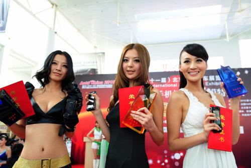 2010北京车展模特大赛各奖项归属揭晓