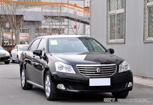 2010款皇冠价格稳定 购车可送超值大礼包