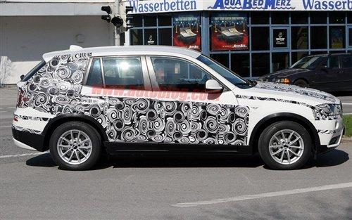 今年底发布 2011款全新宝马X3北美曝光