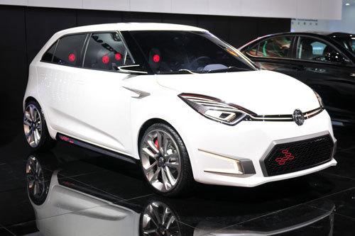 新能源汽车成青岛车展新亮点 MG ZERO领衔