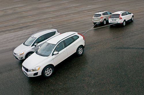 真正的越野较量 沃尔沃XC60对比福特Kuga