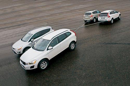 4驱与2驱的较量 沃尔沃XC60对比福特Kuga