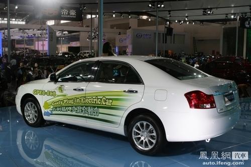 吉利首款C级轿车 帝豪EC8将亮相长春车展