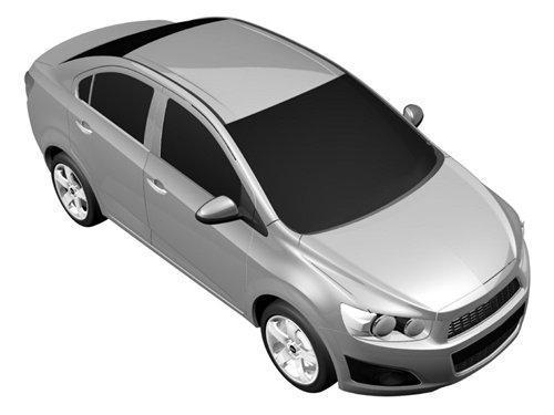 新一代乐骋专利图曝光 2011北美车展首发