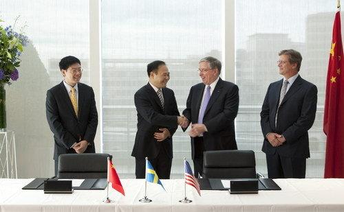 吉利15亿美元迎娶沃尔沃 未来中国瑞典双总部并行