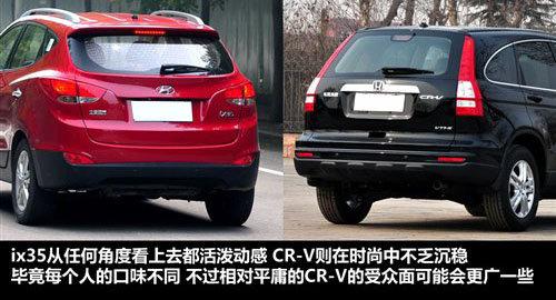 现代ix35全面对比本田CR-V 挑战王者地位