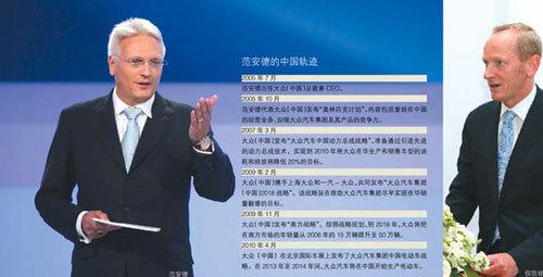 范安德离任 新任掌门带大众中国驶向何方