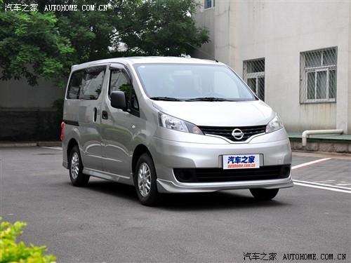 郑州日产NV200现车充足 购车暂无优惠
