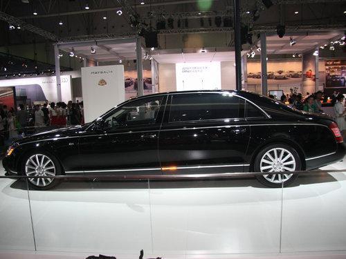 新一代迈巴赫62S成都车展上市 售价1070万元