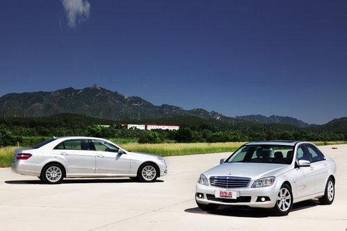 对比测试国产奔驰C180K和E260L 低碳的大牌