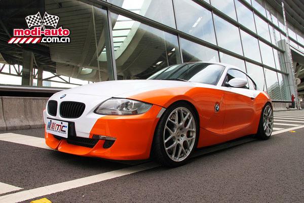 穿新衣:BMW Z4