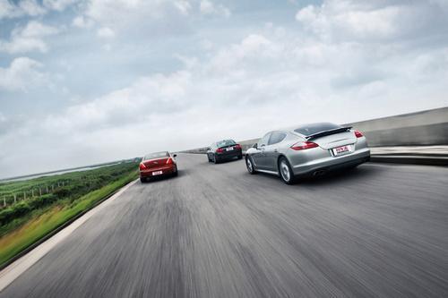 三款百万元级四门性能车对比试驾 豪华定位论