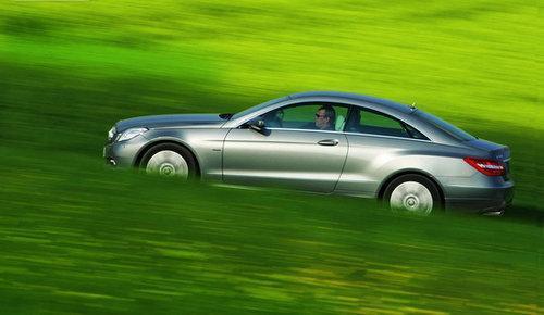 试驾奔驰E350 CGI COUPE轿跑车 战胜于朝廷