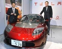 特斯拉向丰田章男赠送新款电动跑车