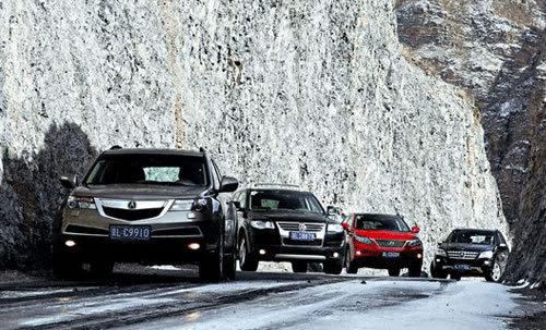 四款豪华SUV对比试驾 德日之争引起的大战(3)
