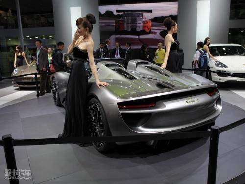 售50万欧元 保时捷918 Spyder量产版预告