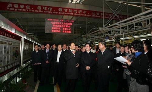 王兆国:吉利收购沃尔沃是中国车企的榜样