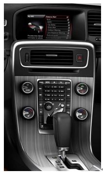 全新沃尔沃S60率先配备SENSUS多媒体信息交互系统