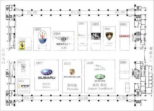 2010广州车展乘用车厂商分布(3)