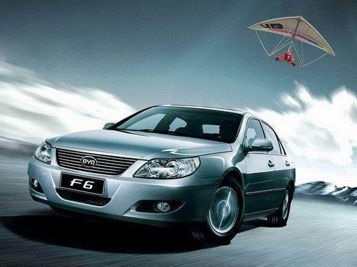 比亚迪F6黄金版 2.0 CVT广州车展首发