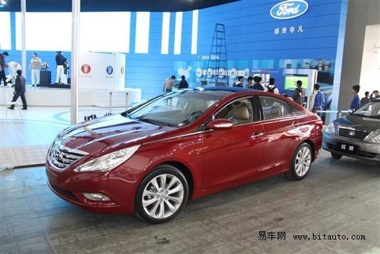 2010广州车展抢先探馆 全新索纳塔亮相