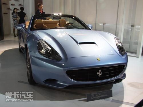 广州车展直击 法拉利三款跑车亮相车展