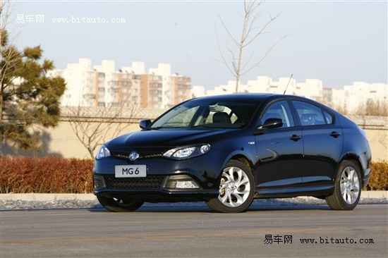 MG6 1.8L MT包牌价12.88万 瑞爵限量销售