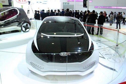 起亚概念车Ray广州车展首发 百公里油耗不超3.0L