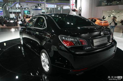 上海汽车MG6三厢版亮相广州车展 将推六款车型
