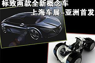标致两款全新概念车 上海车展-亚洲首发