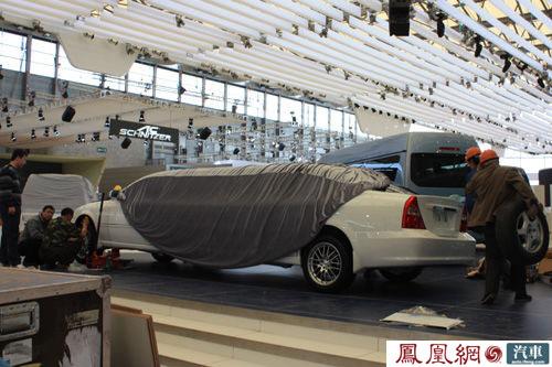 上海车展 奇瑞礼宾车亮相展台