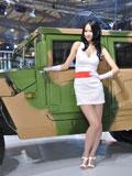 上海车展东风车模