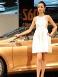 上海车展沃尔沃车模