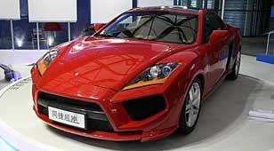 同济同捷超跑亮相2009上海国际车展