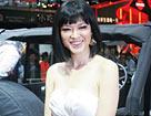 名模李艾亮相克莱斯勒展台