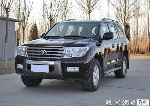 因安全气囊问题 丰田在中国召回兰德酷路泽