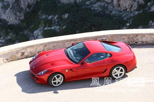 法拉利Ferrari 599 GTB Fiorano亮相车展
