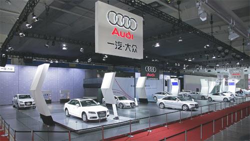 奥迪Q7 3.6 FSI长春车展上市 售价91.7万起