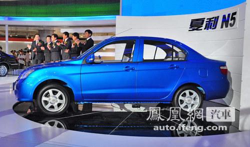 天津一汽公布新车命名 夏利N5与威姿V1