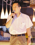 东风柳汽销售副总经理伍雪峰