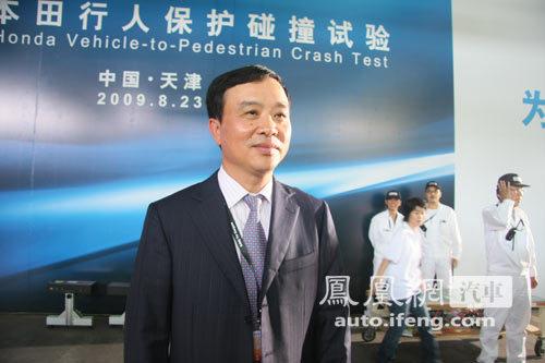 专访姚一鸣:首次行人碰撞有助未来车型研发