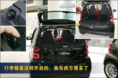 静态评测奔驰Smart 昂贵的个性化小车\(5\)