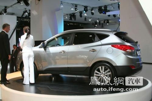 北京现代将投产ix35 明年4月上市接替途胜