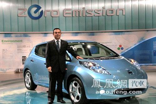 日产纯电动车LEAF明年量产 或将引入国内