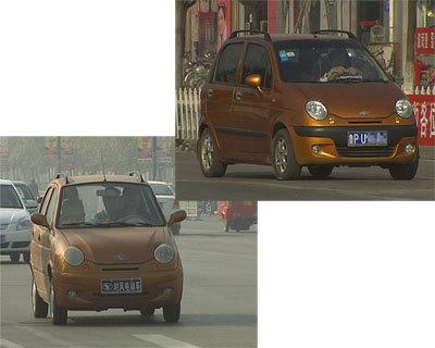 山东聊城山寨电动汽车满街跑高清图片