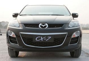 2009广州车展热点新车技术解析--马自达CX-7