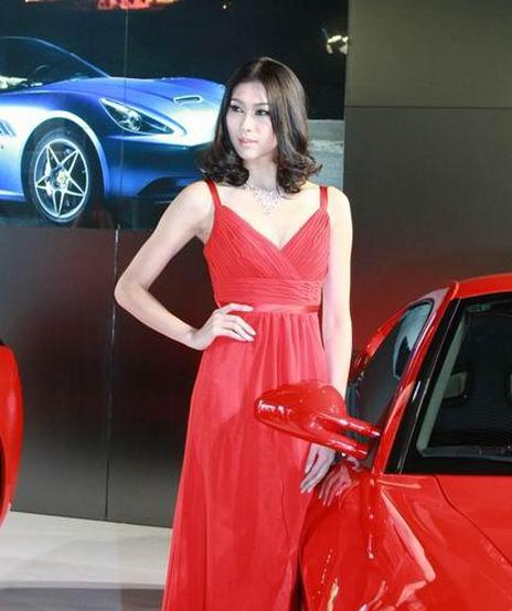 法拉利2号车模